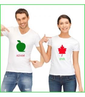Tee Shirt Duo Adam&Eve