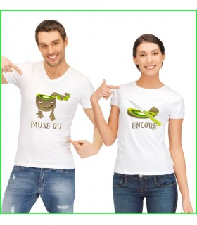 Tee Shirt Duo Kiwi