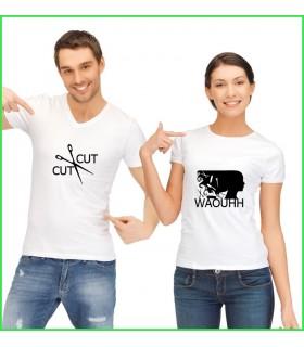 tee shirt pour rire et pour sourire cut cut