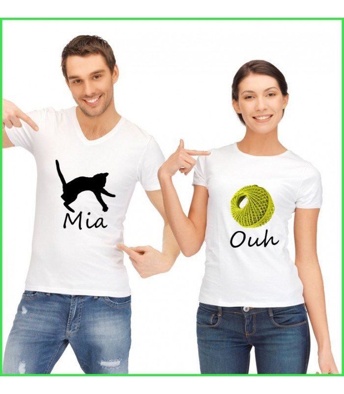Tee Shirt Duo Miaouh