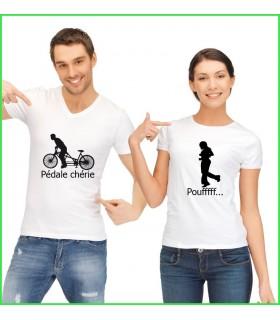 collection de t shirt original pour homme et femme tandem