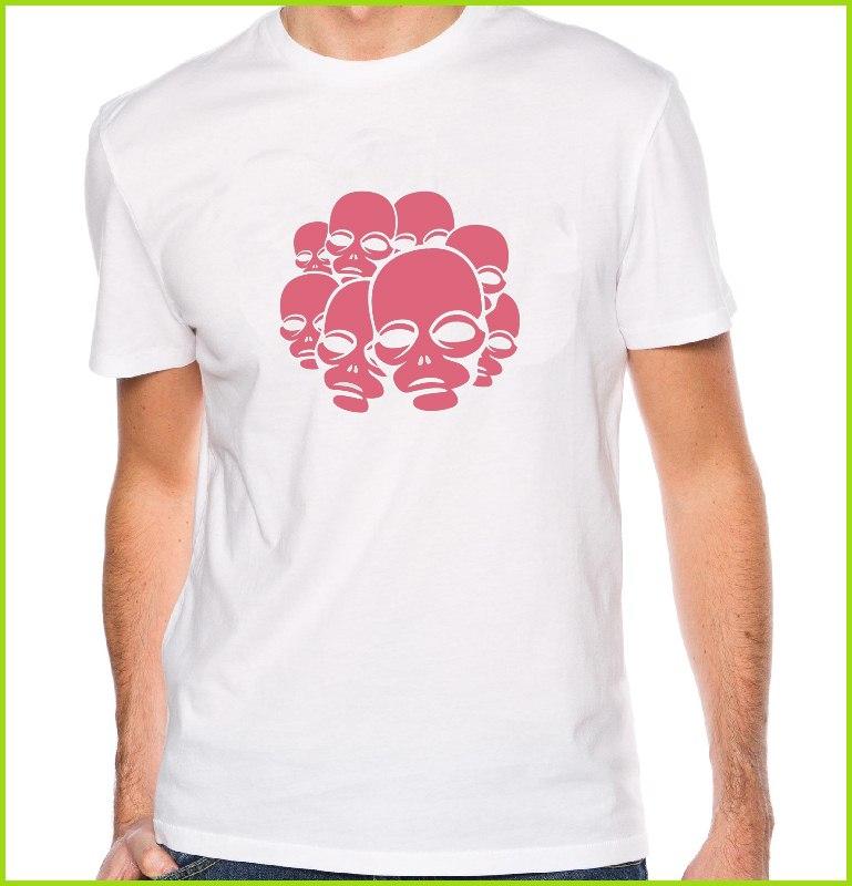 Tee shirt personnalis avec pr nom t shirt original et design t te de mort - Tee shirt avec photo personnalise ...