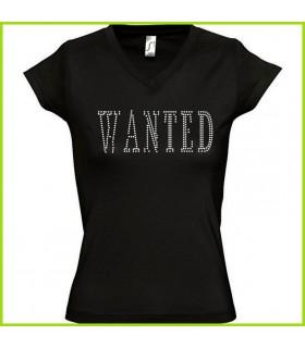 wanted, une recherche pour un joli tee shirt en strass