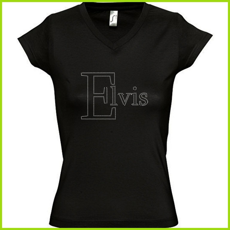 Tee shirt fan Elvis Preslay