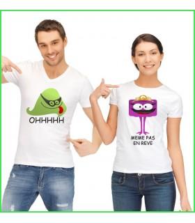 optez pour un tee shirt qui va faire beaucoup rire et sourire