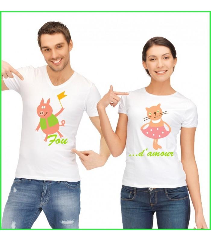 T shirt cochons rigolos