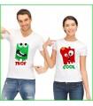 T shirt rigolo pour le couple