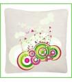 coussin cercles design
