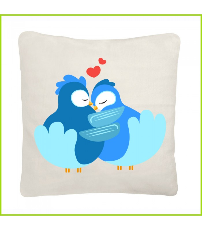 coussin bisous