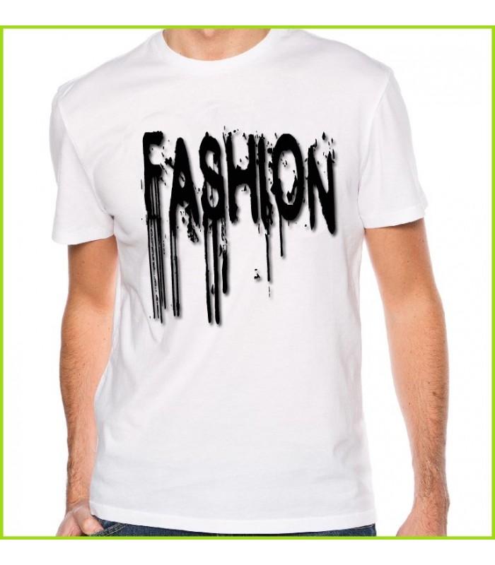 tee shirt fashion inscription noire tee shirt original et pas cher. Black Bedroom Furniture Sets. Home Design Ideas
