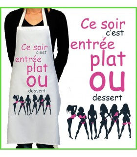 Tablier de cuisine striptease