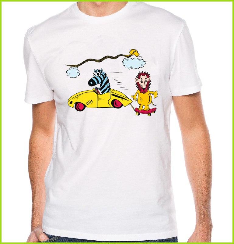 un tee shirt rigolo avec des animaux un t shirt tr s design et pas cher. Black Bedroom Furniture Sets. Home Design Ideas