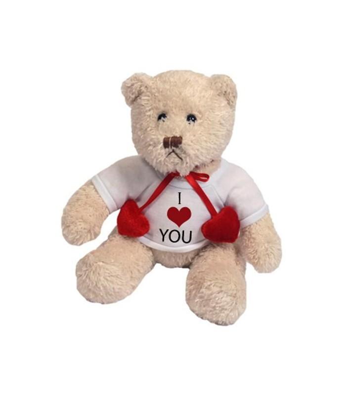 ours blanc personnalisé avec photo