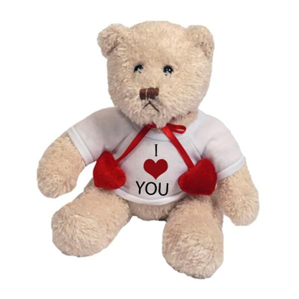 peluche ours blanc personnalisee