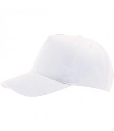 broderie personnalisée sur une casquette blanche