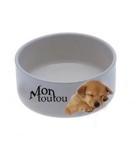 photo sur gamelle pour chien et chat