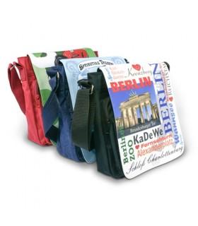 photo sur un sac en toile à porter sur épaule
