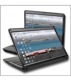 ordinateur portable personnalisé avec un sticker photo