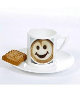 tasse à café personnalisée avec une photo