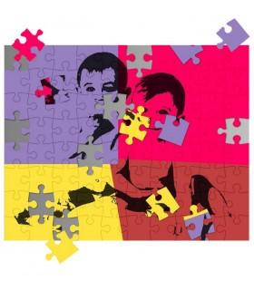 puzzle personnalis avec photo cadeau pour la famille. Black Bedroom Furniture Sets. Home Design Ideas