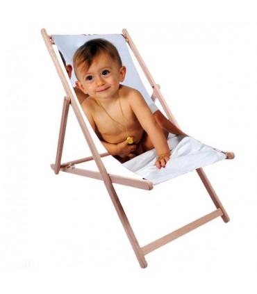 chaise longue transat avec photo