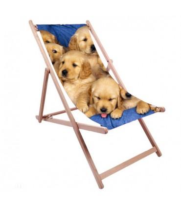 chaise longue transat personnalisé