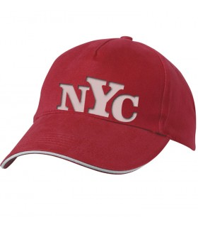 casquette avec NYC new york