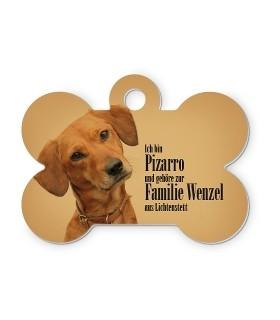 un pendentif personnalisé avec photo ou texte pour votre chien