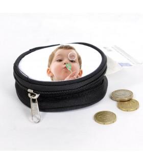 impression de votre photo sur un joli porte monnaie rond