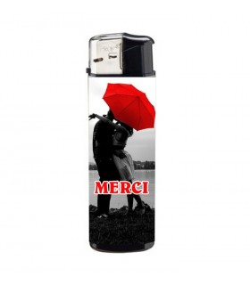 briquet avec photo