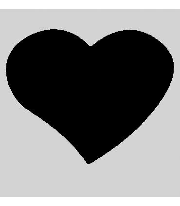 Horloge personnalisée forme coeur  ✔️L'heure en coeur ! Un très joli cadeau personnalisé sur lequel nous venons imprimer votre p