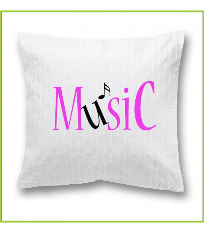 coussin musique