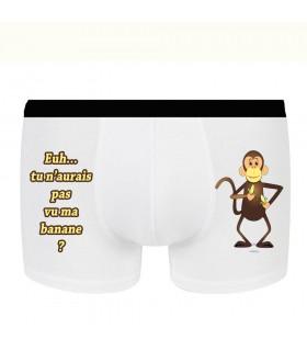 Boxer rigolo petit singe