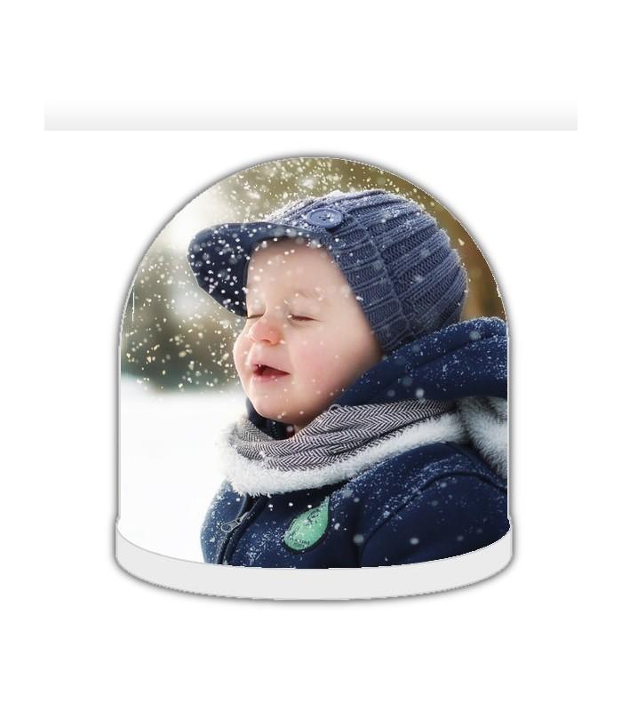 Boule à neige personnalisée avec photo