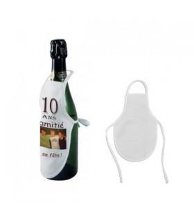 Tablier bouteille personnalisée