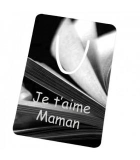 Marque page livre personnalisé
