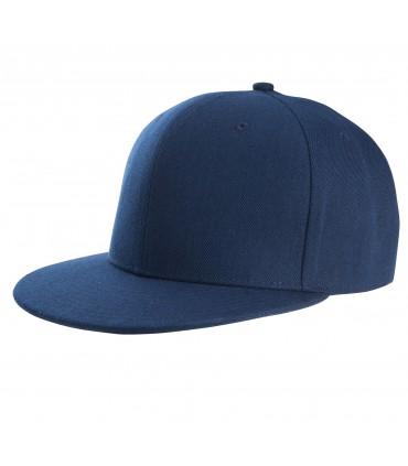 Casquette snapback K-UP style rappeur brodée bleue