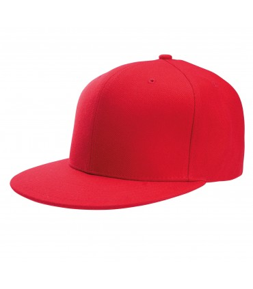 Casquette snapback K-UP style rappeur brodée rouge