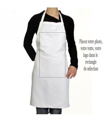Photo sur tablier de cuisine
