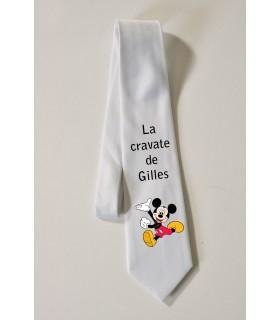cravate personnalisée avec photo