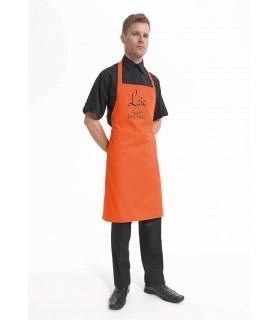 Tablier de cuisine pro brodé