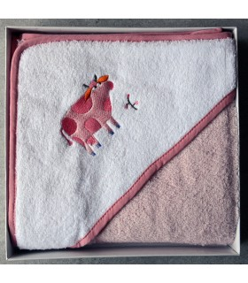 Lot bain enfant vache