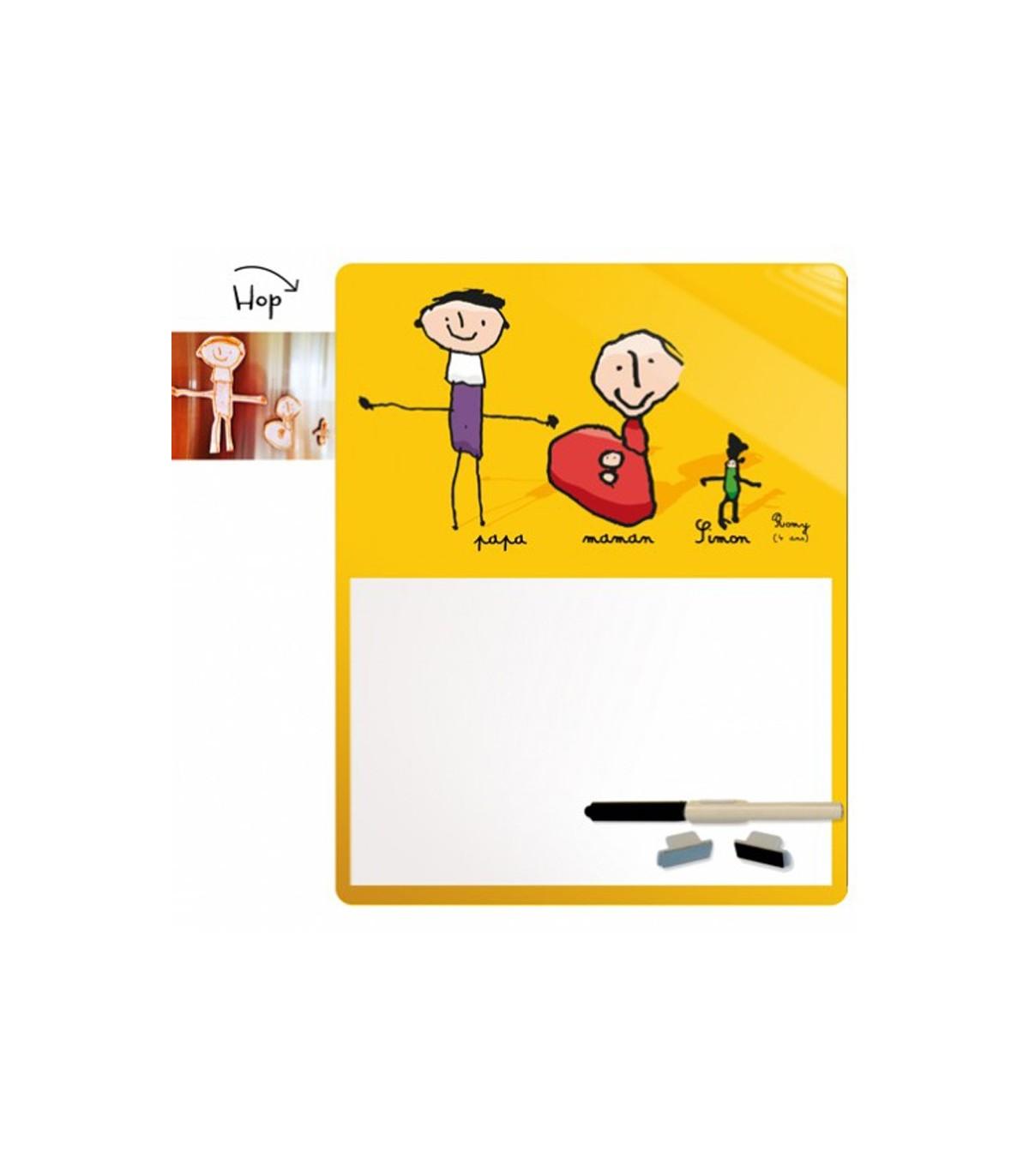 Super Le Cadeau Avec Ce Tableau Imprime Avec Le Dessin D Enfant