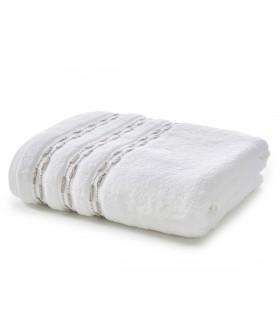 drap de bain luxe blanc