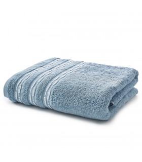 Drap de bain luxe bleu