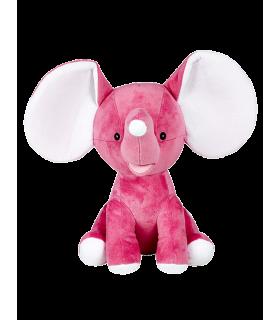Elephant rose grandes oreilles