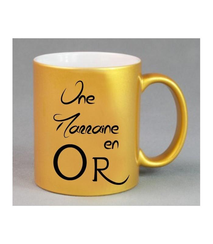 Mug or pour marraine