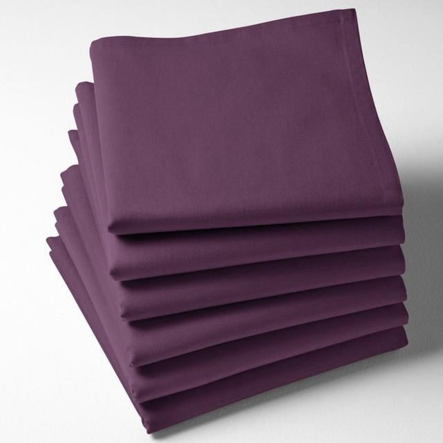 Serviette de table violette