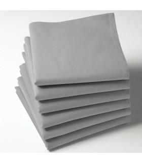 Serviette de table gris clair