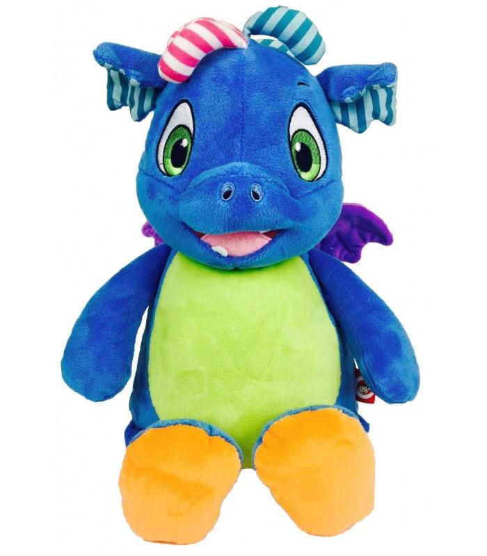Dragon peluche à broder